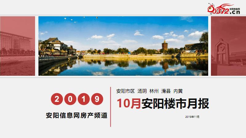 2019年10月安阳楼市月报.pdf