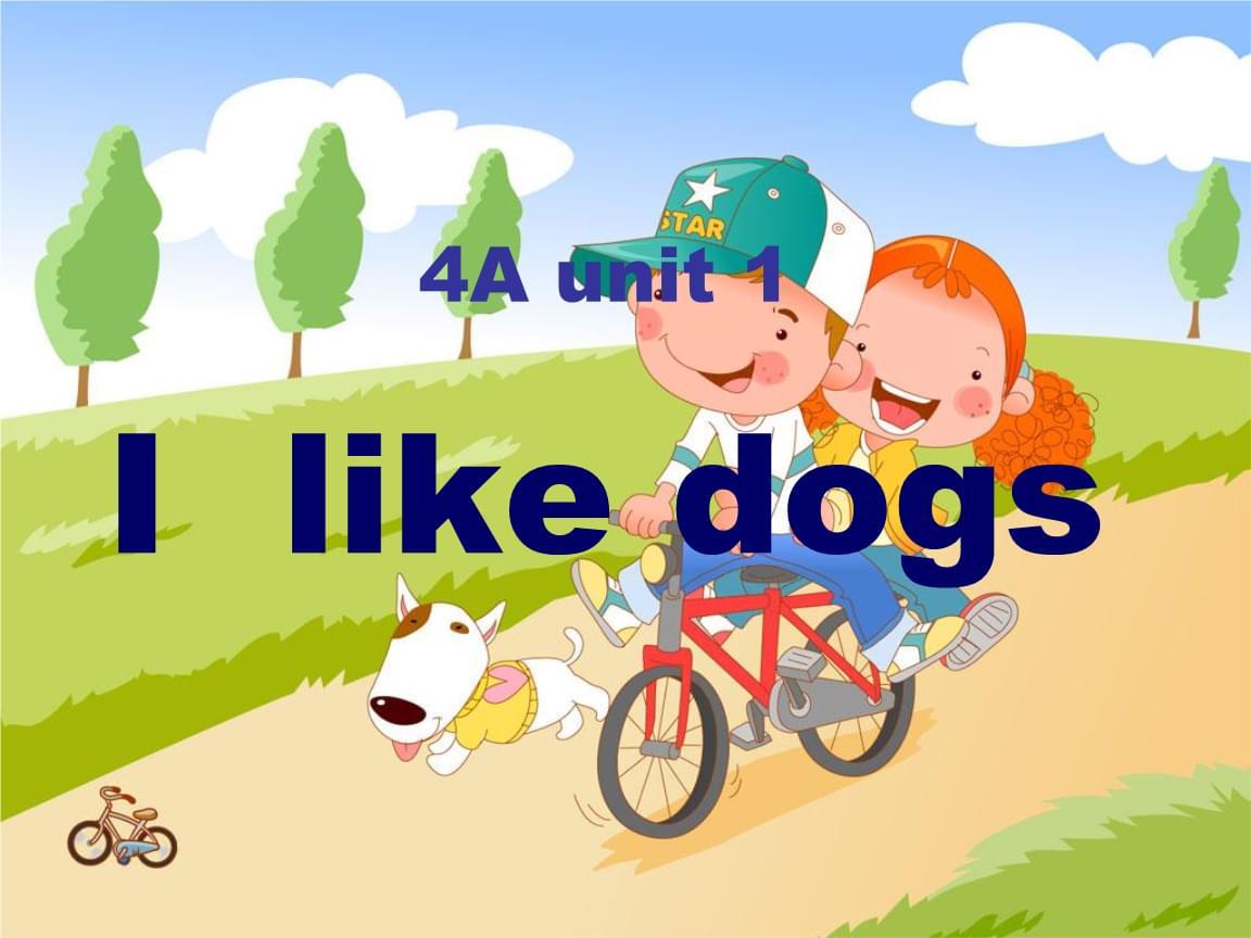 三年级上册英语Unit1 I like dogs 第三课时译林版.ppt