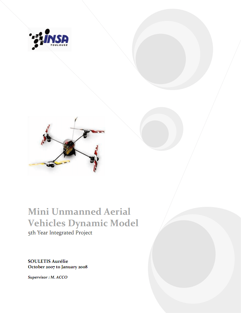 四旋翼飞行器-建模.pdf