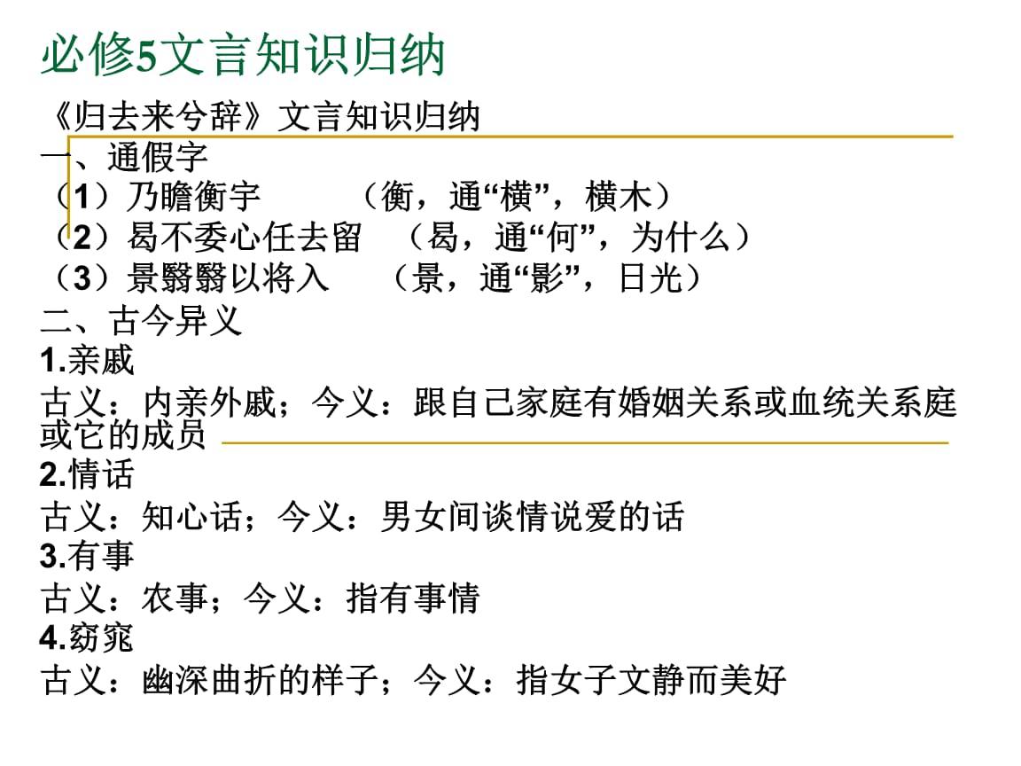 《必修书法知识归纳》-公开文言.ppt小学生软笔课件准备课图片