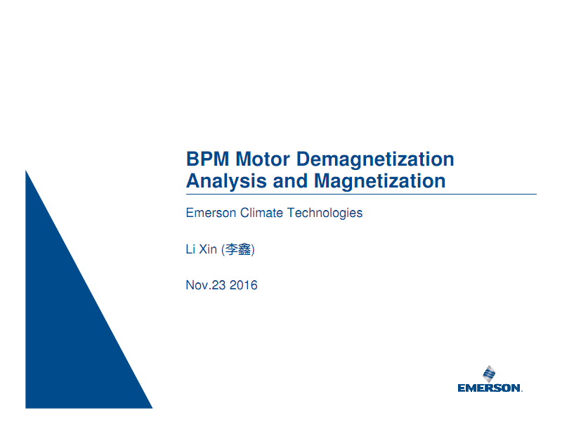 BPM电机的退磁分析与充磁.pdf