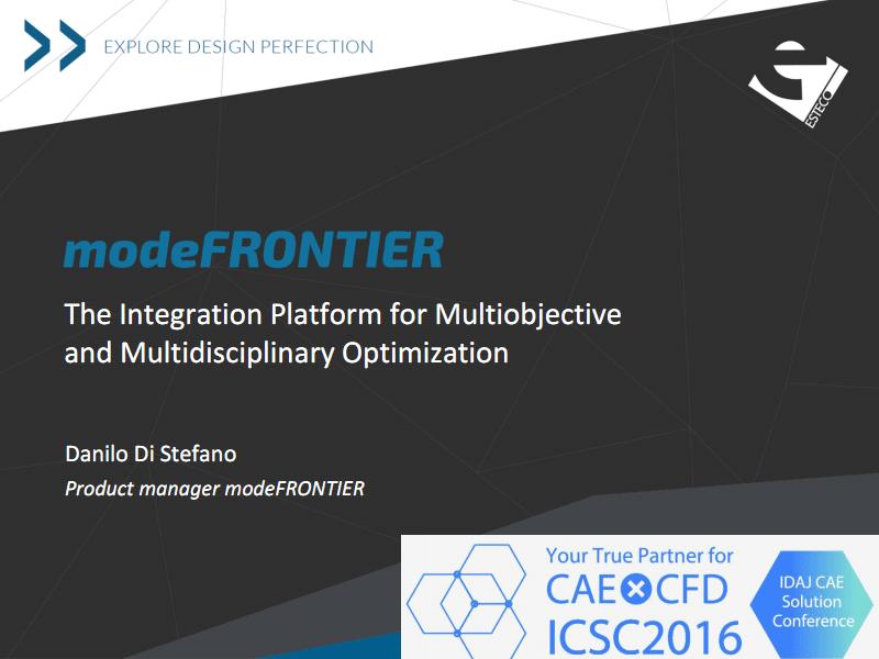 modeFRONTIER - 多目标多学科优化集成平台.pdf