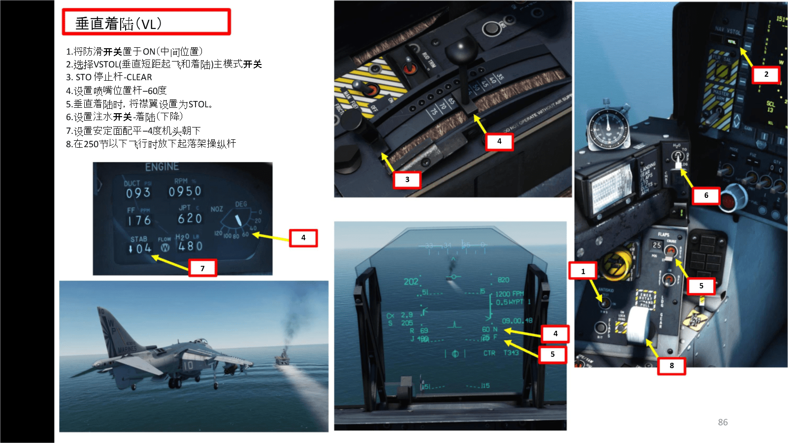 DCS AV 8B Harrier2鹞2垂直起降战斗机 中文指南 6.2着陆.docx