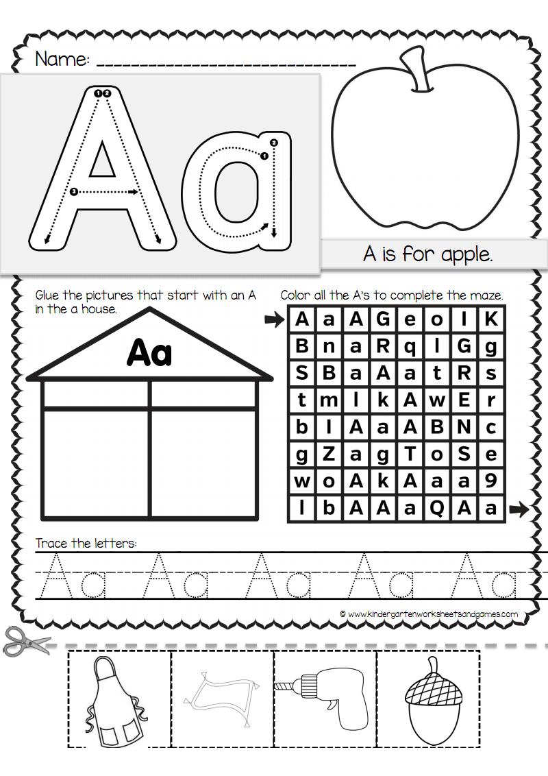 字母26个的书写及认读练习(带笔顺).pdf