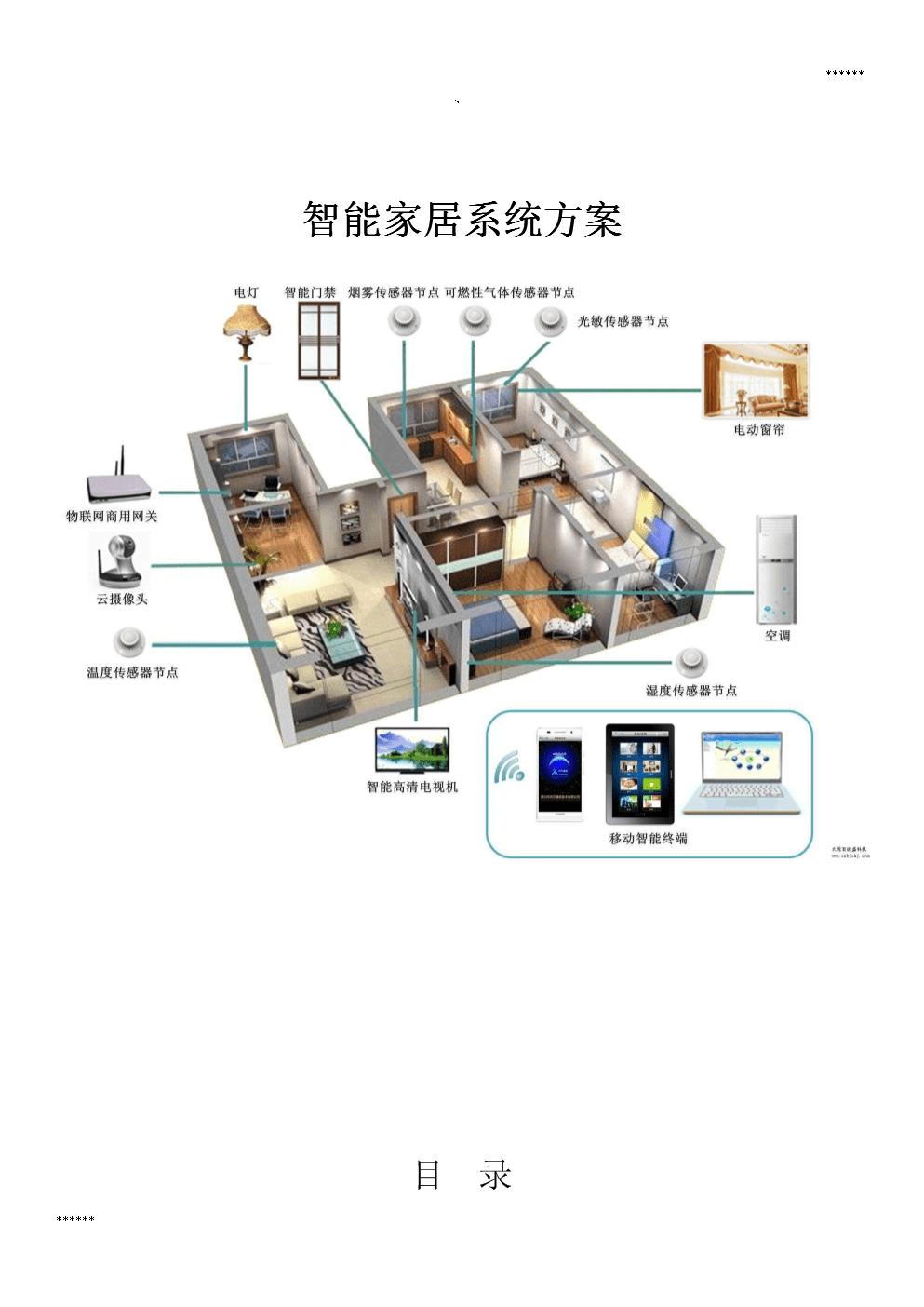 智能家居设计的方案.doc