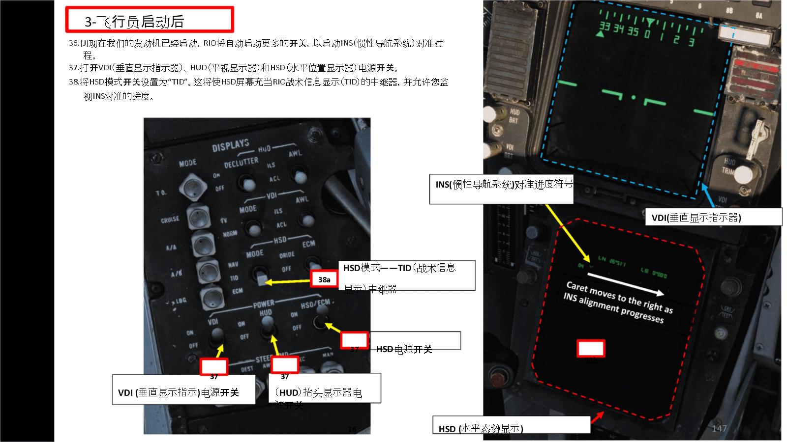 DCS F 14B Tomcat雄猫战斗机 中文指南 4.3飞行员启动后.docx