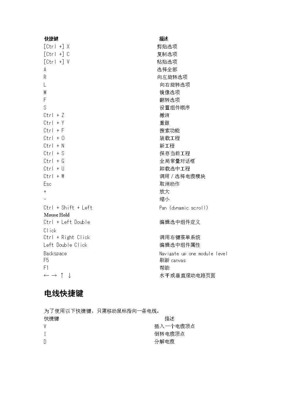PSCAD快捷键设置的.doc