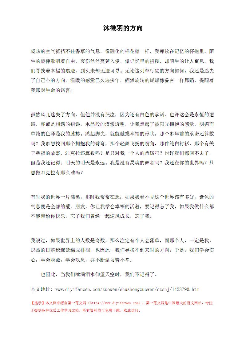 沐徵羽的方向.pdf