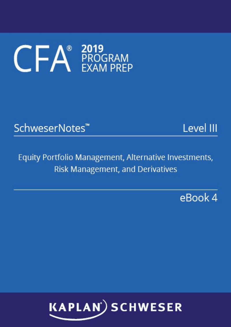 2019年CFA L3 Notes Book4复习参考手册.pdf