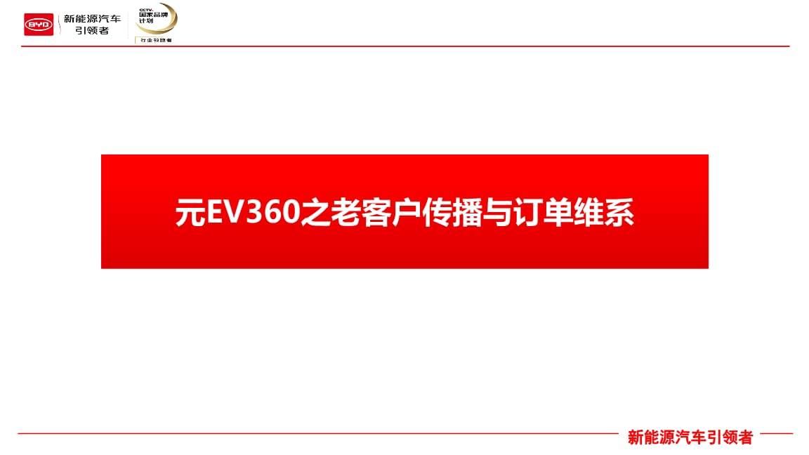 元EV360之老客户传播与订单维系.pptx