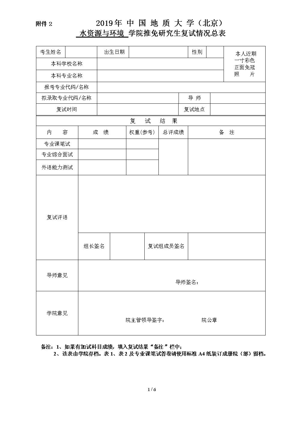 2019年中国地质大学北京.doc