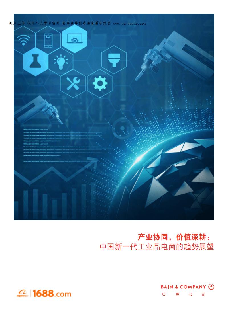 阿里巴巴-中国新一代工业品电商的趋势展望.pdf