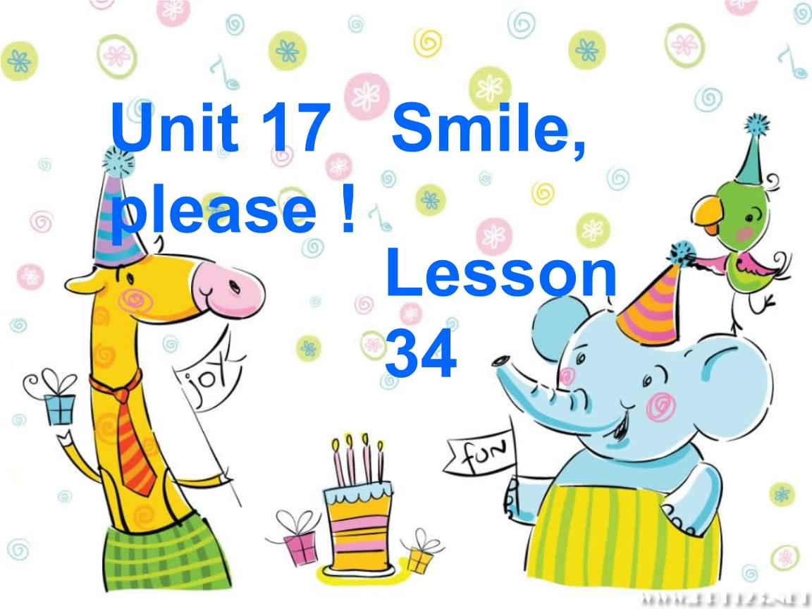 青少版新概念1b_lesson34.ppt