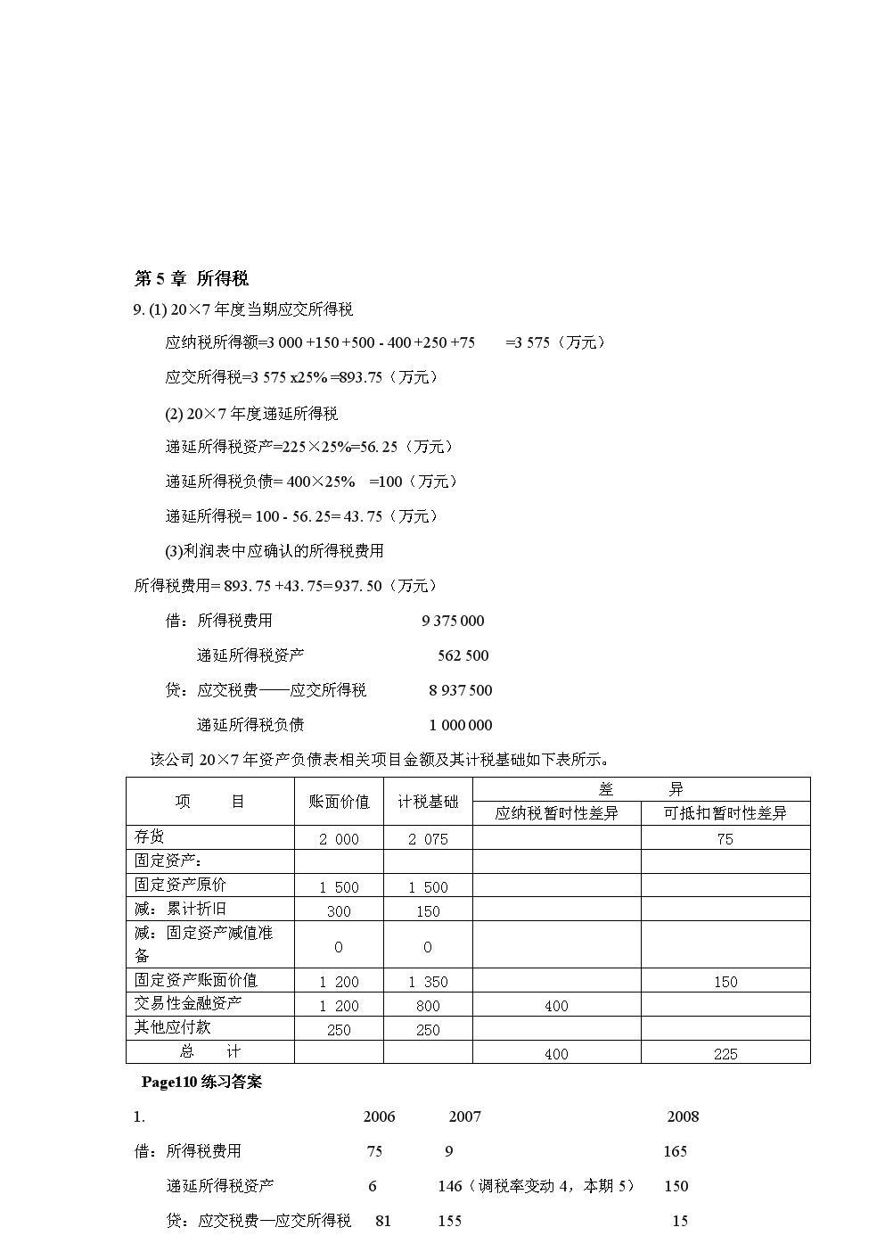 高级财务会计练习题6.doc