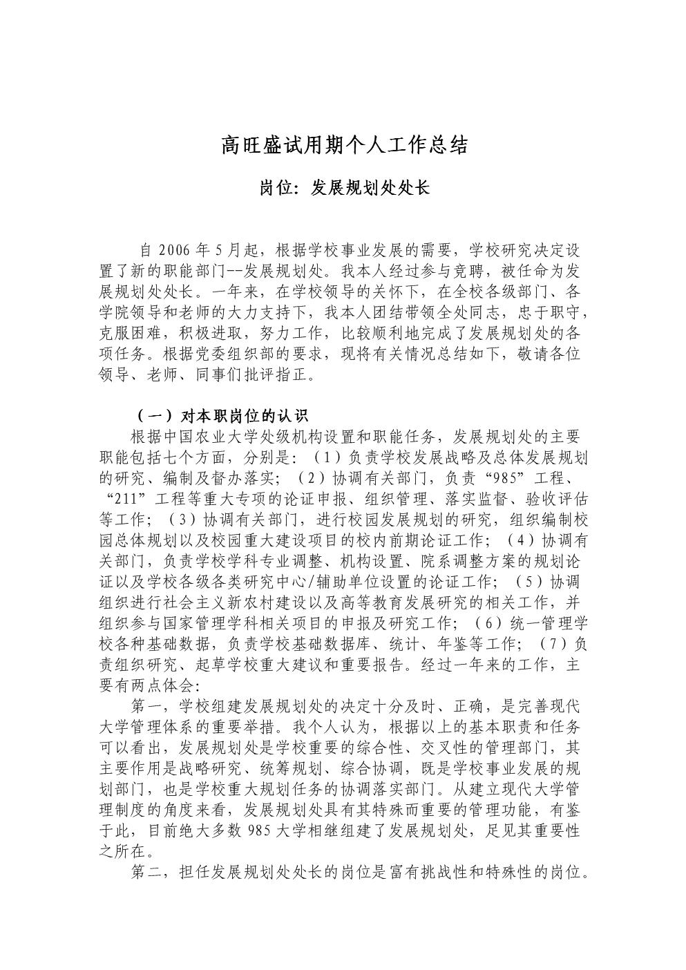 高旺盛试用期个人工作总结.doc