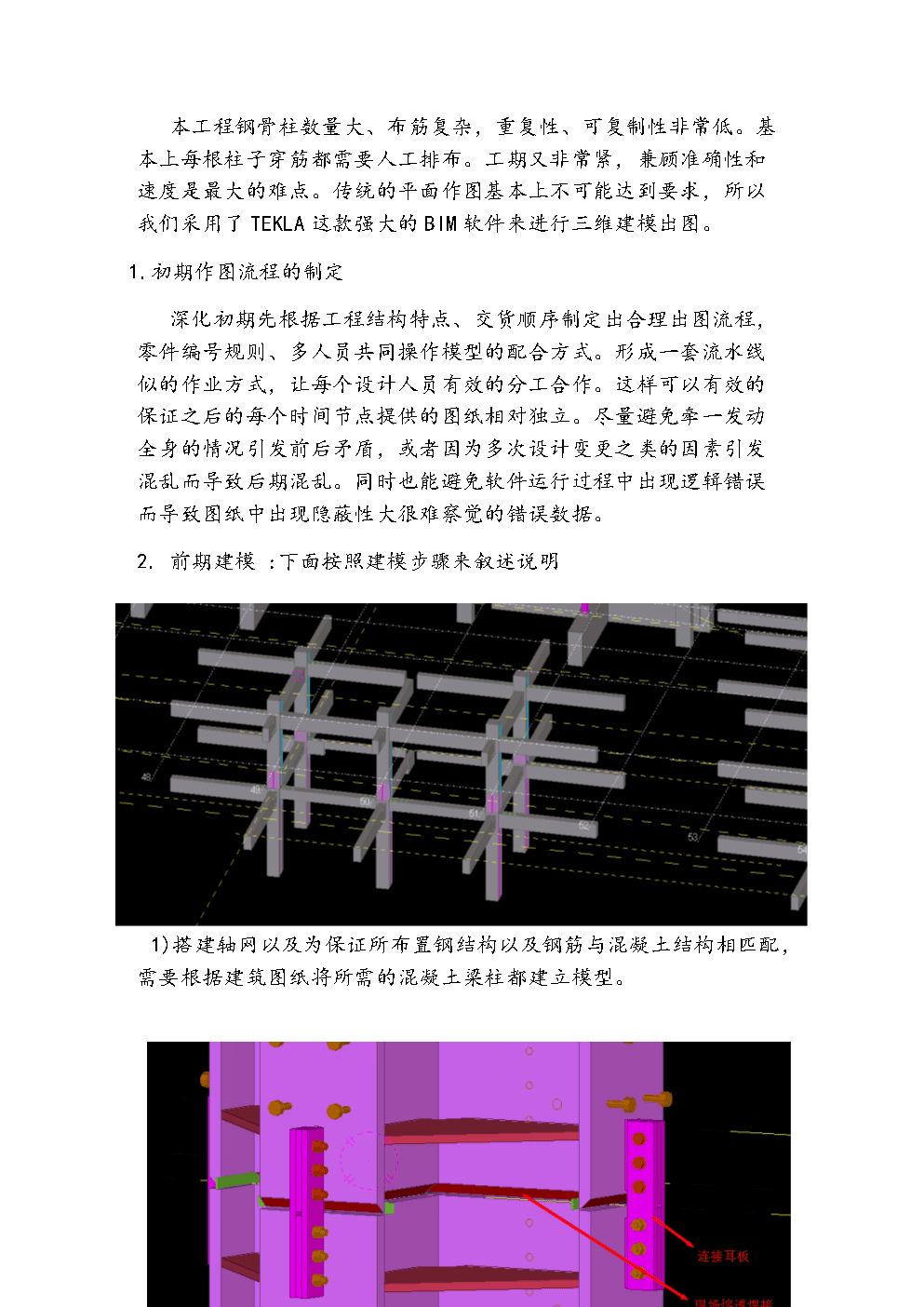 鲜活工程tekla详图设计概述.doc