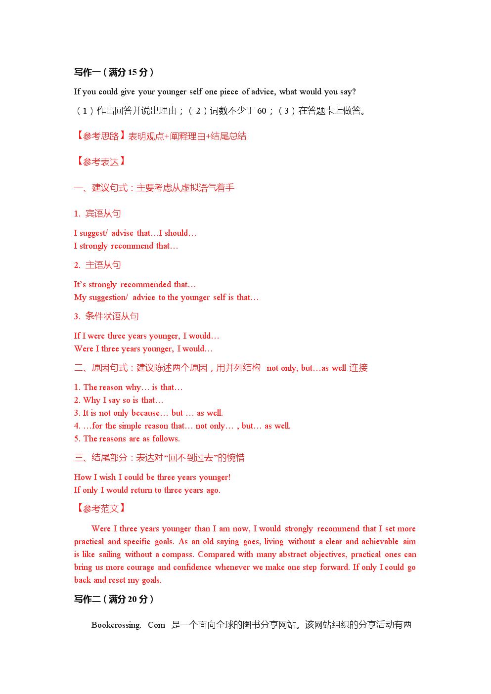 2015重庆卷英语作文.doc
