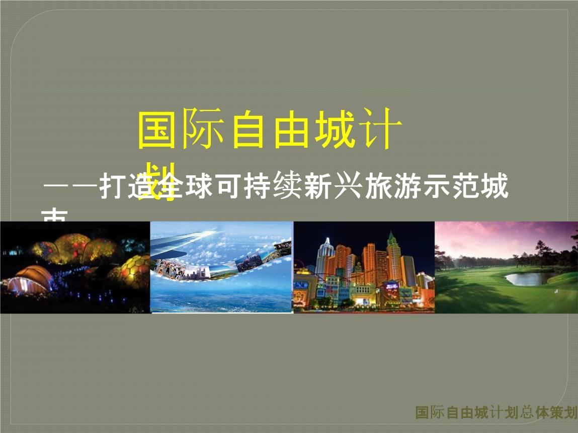 范例国际自由城计划总体策划概念方案.pptx