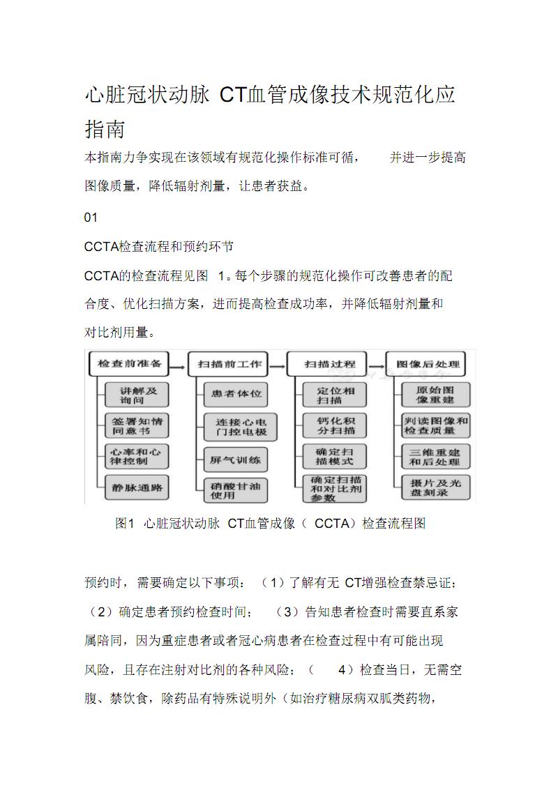 心脏冠状动脉CT血管成像技术规范.pdf