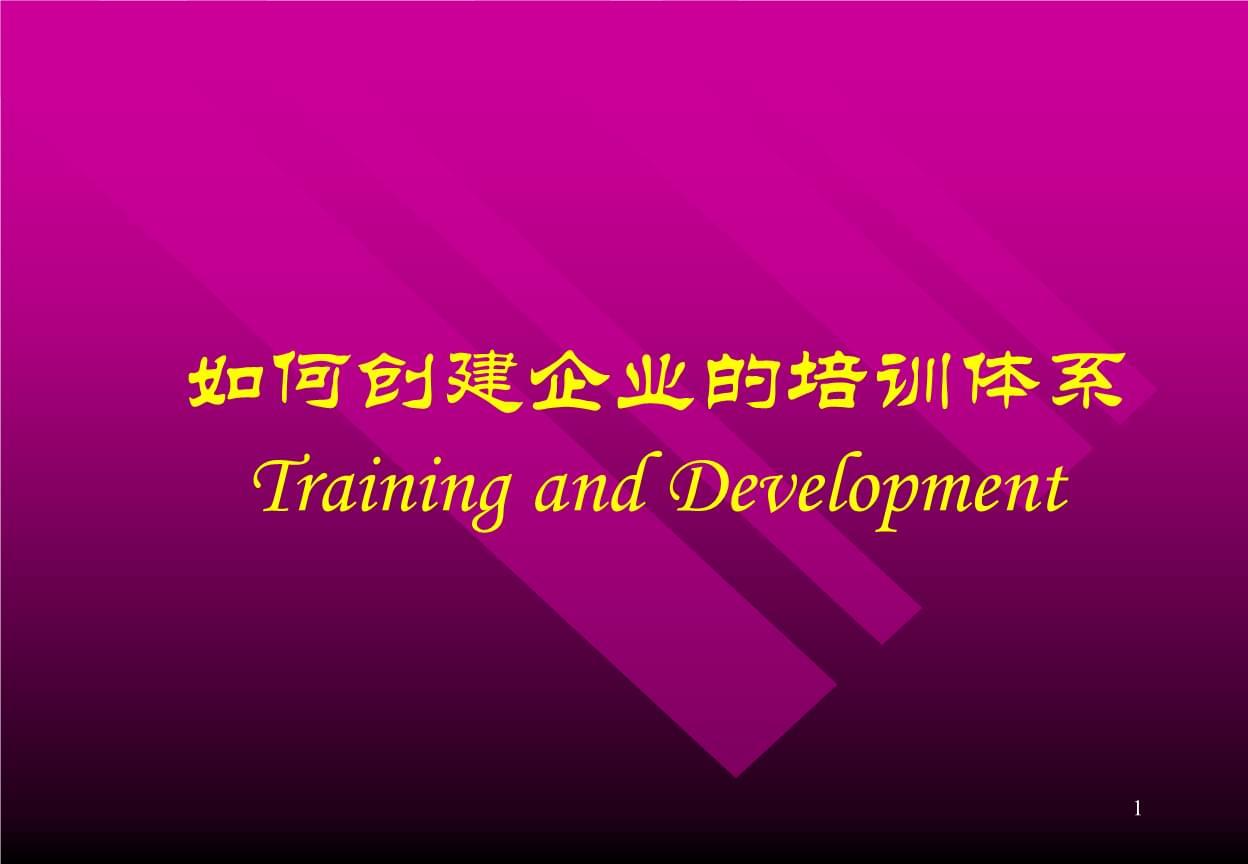怎样制定企业培训计划.pptx