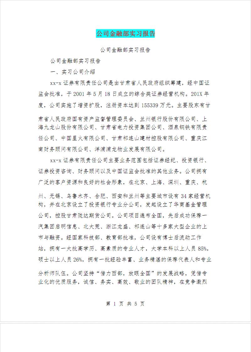 公司金融部實習報告.pdf