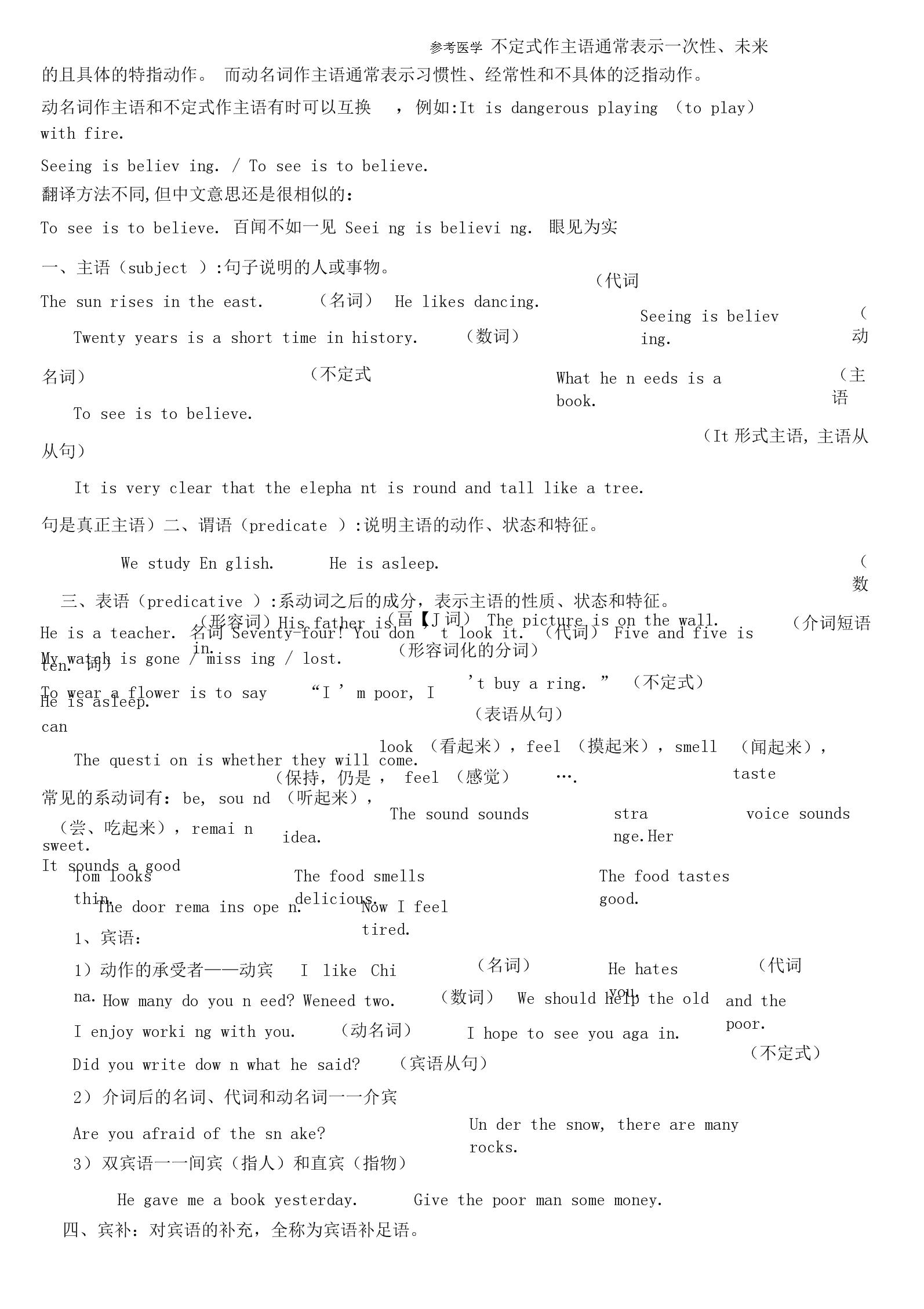 不定式作主語通常表示一次性.docx