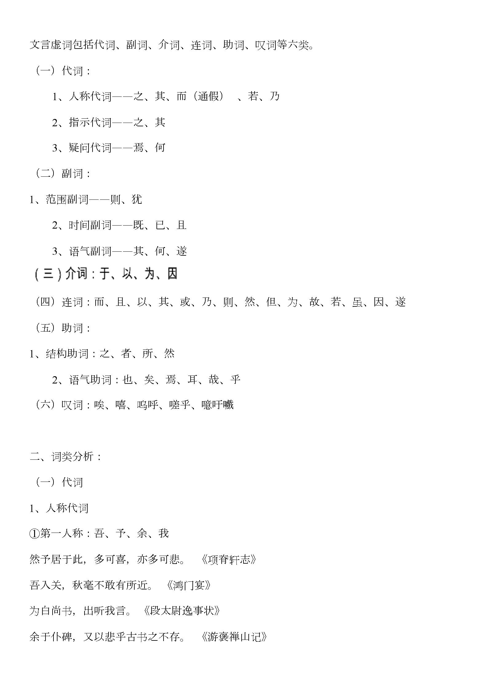 【史上最全】高考必备高中文言文虚词知识点总结.doc