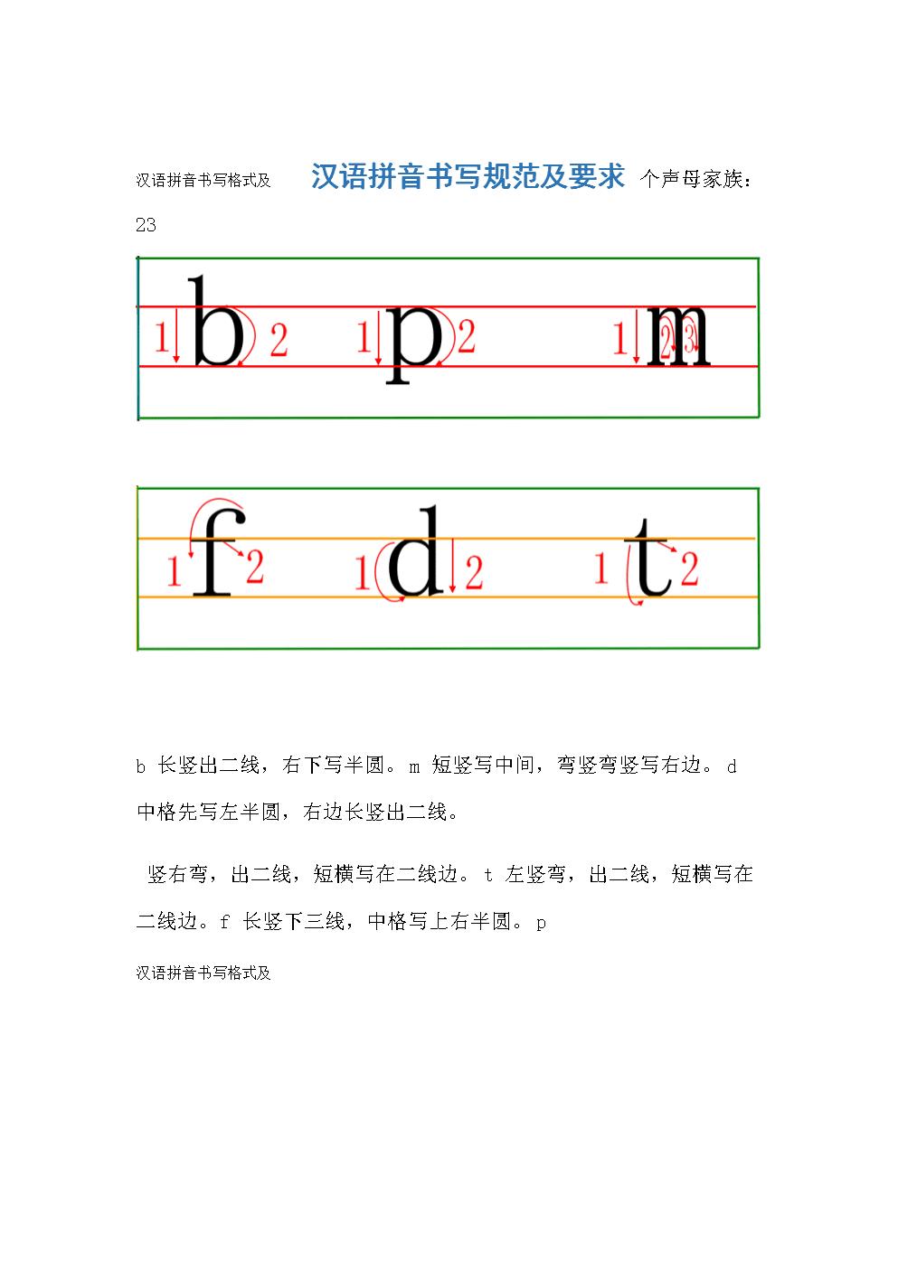 汉语拼音书写格式及.doc 8页图片