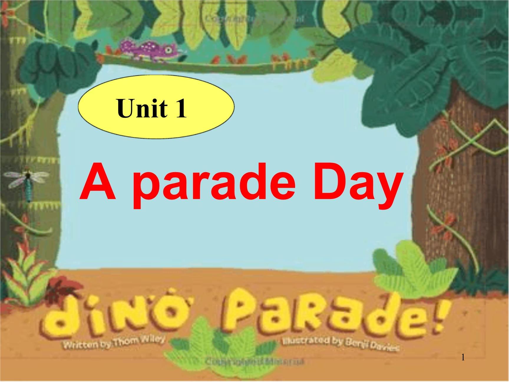 广东版开心学英语六年级下册unit 1a parade day课件2.ppt