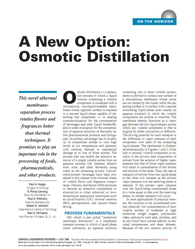 使用Liqui-Cel®膜组件实现渗透蒸馏 A new Option Osmotic Distillation using Liqui-Cel Membrane Contactors.pdf