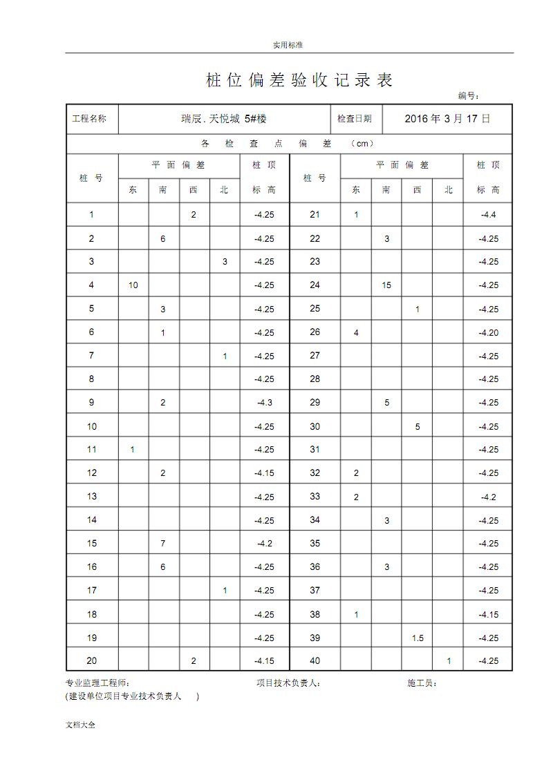 5#桩位偏差验收记录簿表.pdf