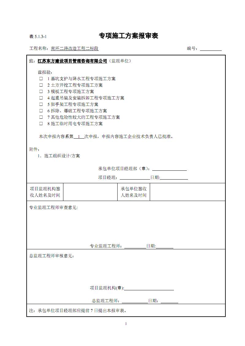 排水管道土方开挖专项施工方案(市政)(一).pdf