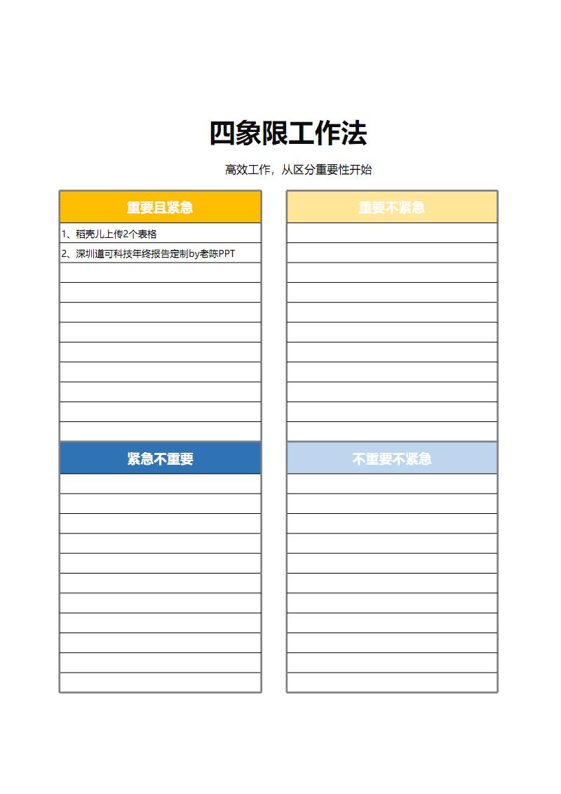 抖音网红四象限工作法.pdf