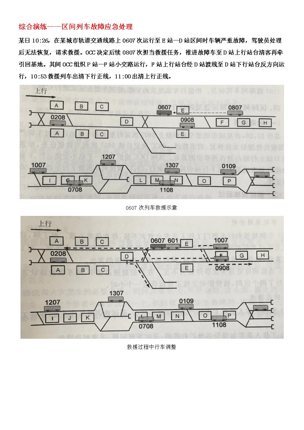轨道交通安全管理课程综合演练.docx
