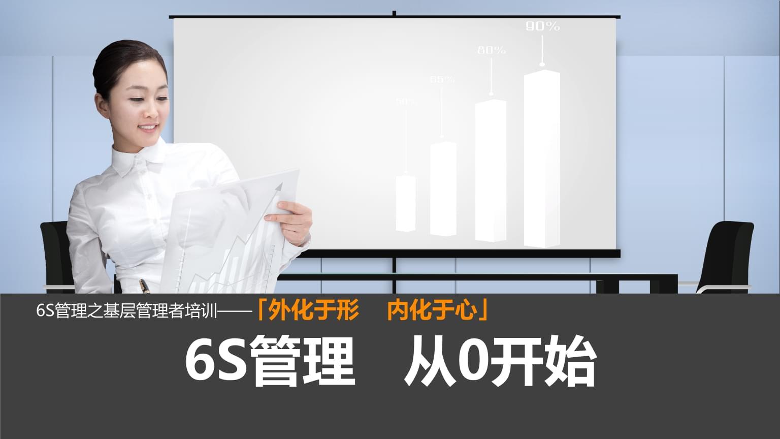 企业公司银行6S管理之基层管理者培训课件简洁ppt幻灯片.pptx