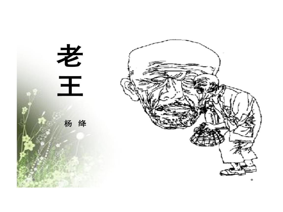 老王优质一等奖.ppt