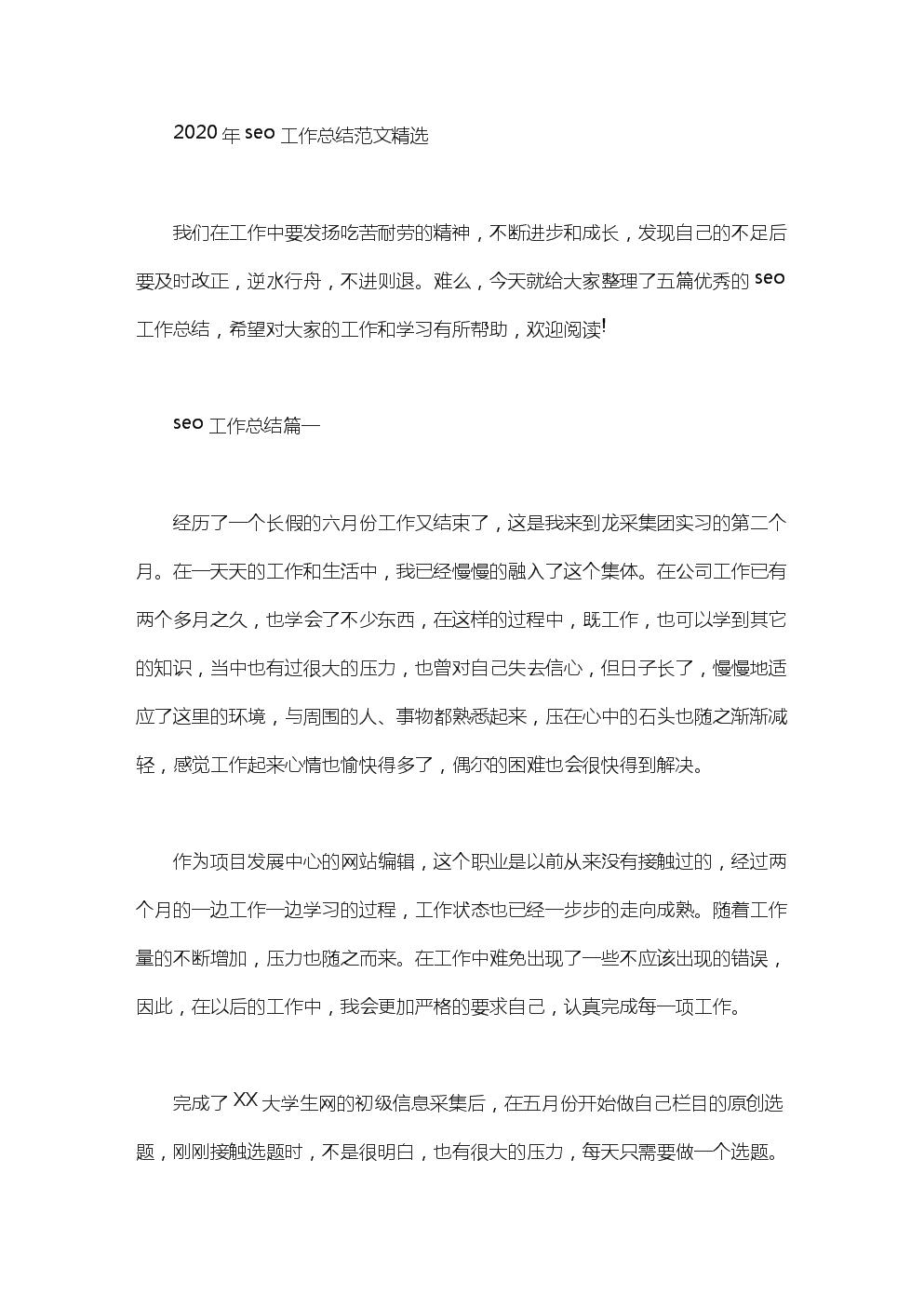seo工作总结例文.doc