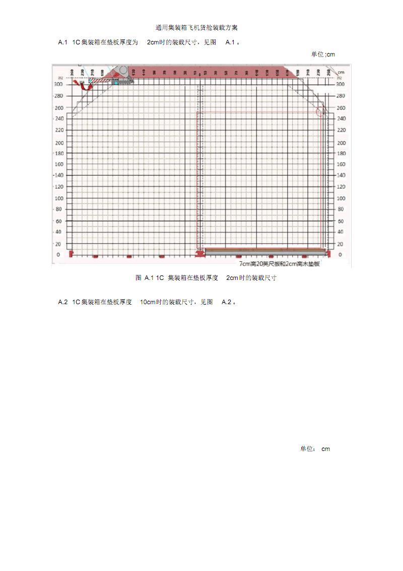 通用集装箱飞机货舱装载方案、侧边位集装箱的系留拴固.pdf