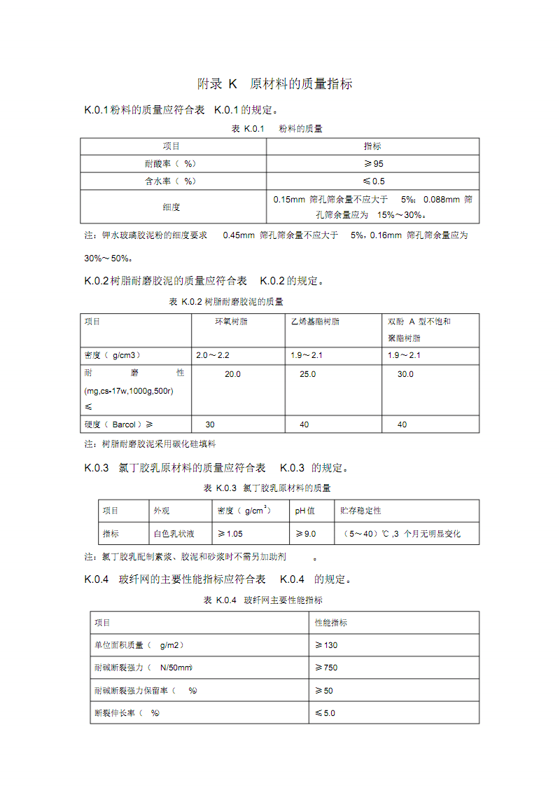 工业设备及管道防腐蚀工程-原材料的质量指标.pdf