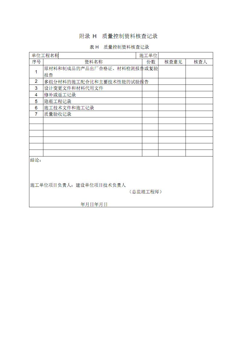 工业设备及管道防腐蚀工程-质量控制资料核查记录.pdf