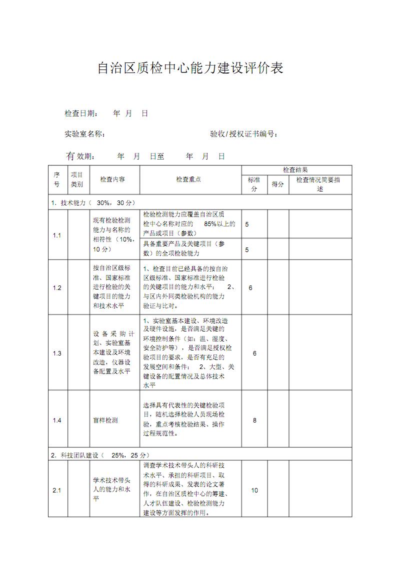 广西自治区质检中心能力建设评价表.pdf
