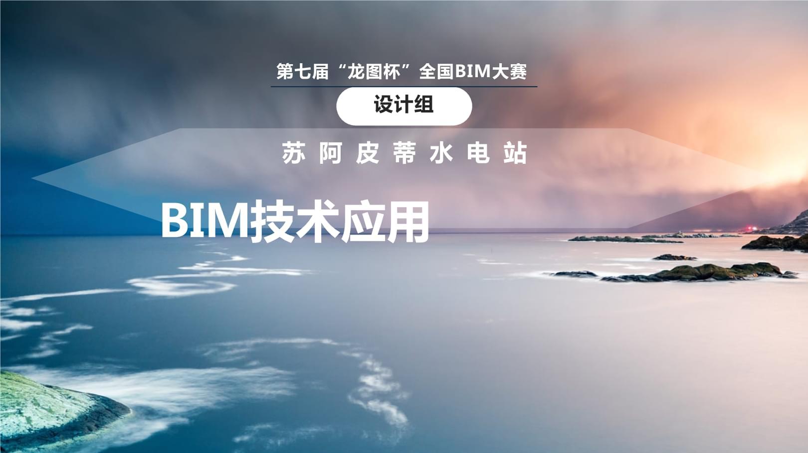 龙图杯-苏阿皮蒂水电站BIM技术应用.pptx