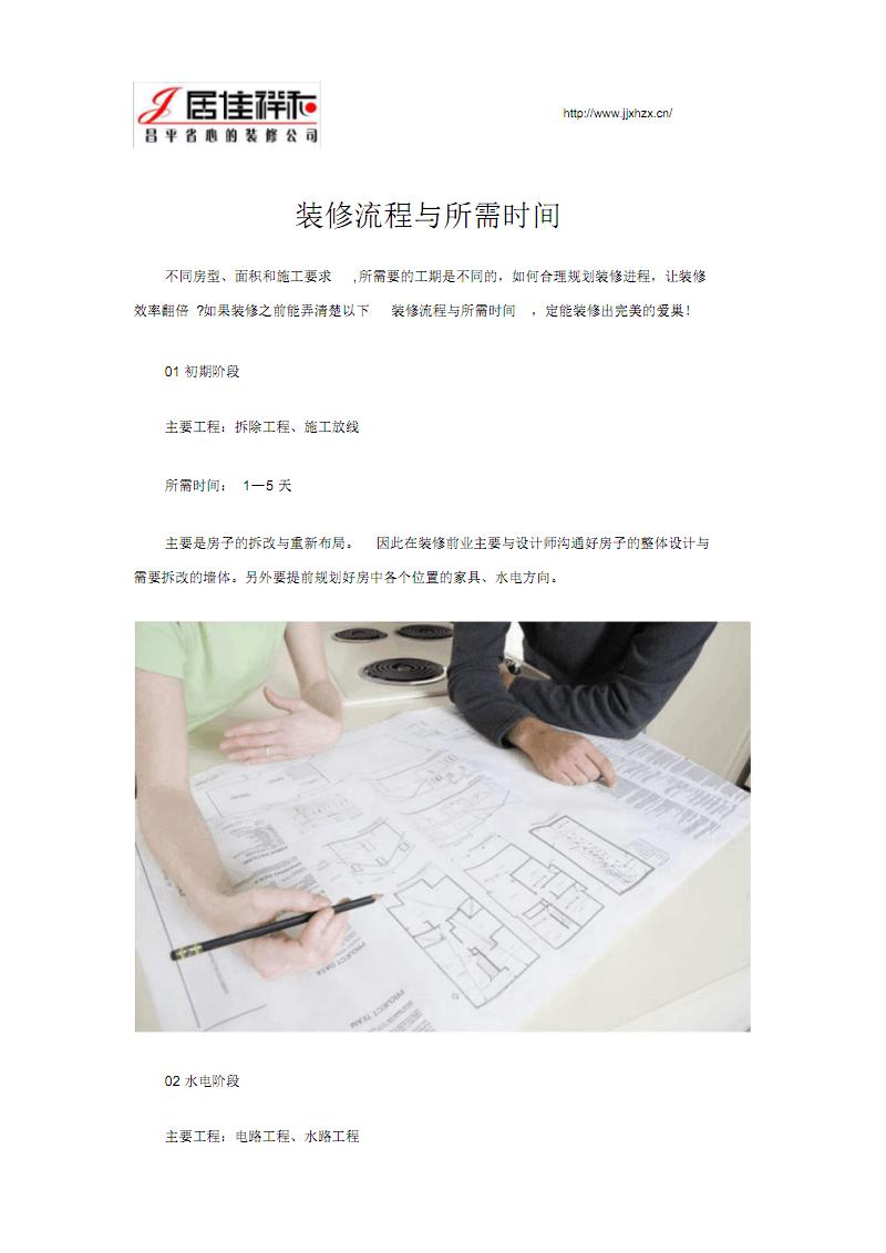 装修流程与所需时间.pdf