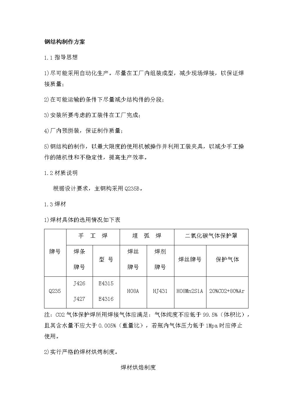 钢结构制作方案x.docx