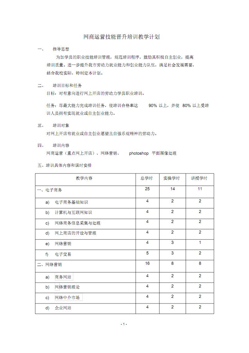 網商運營培訓大綱.pdf