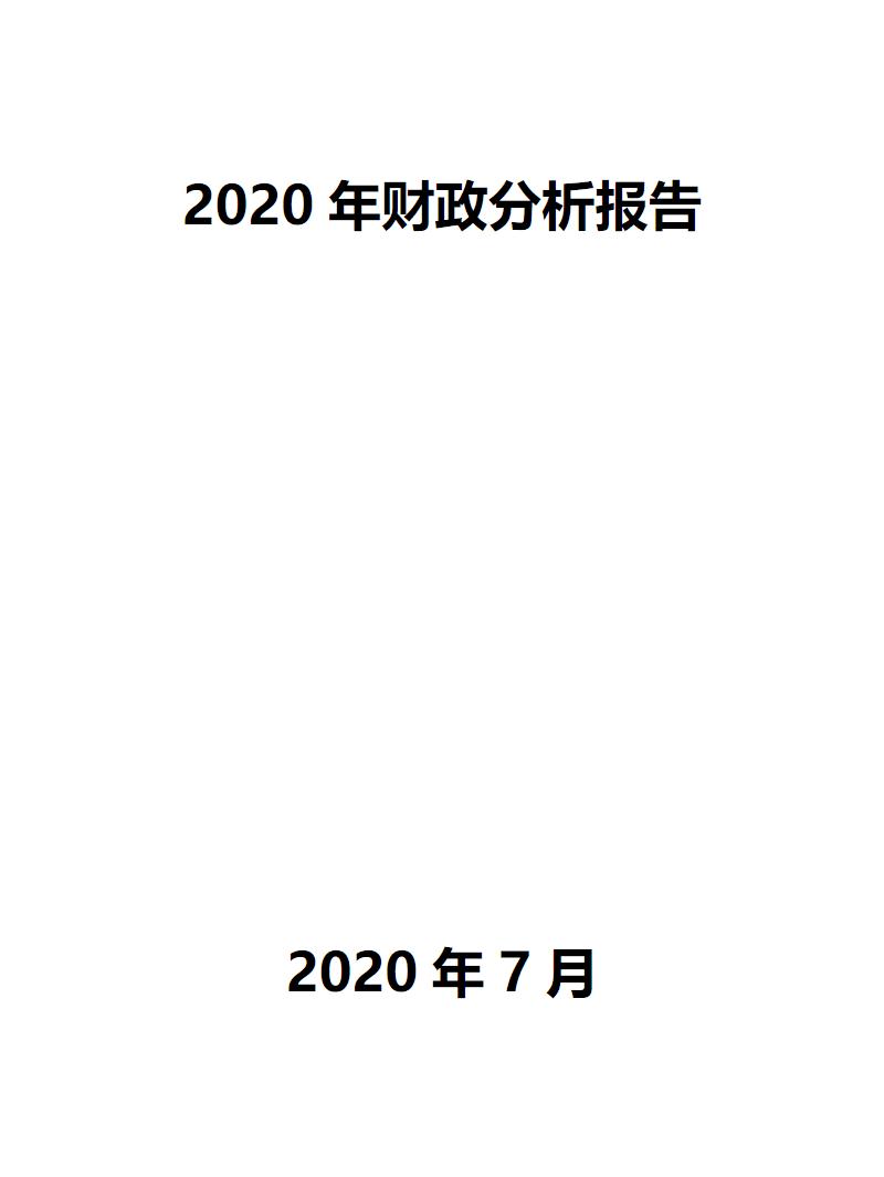 2020年财政分析报告.pdf