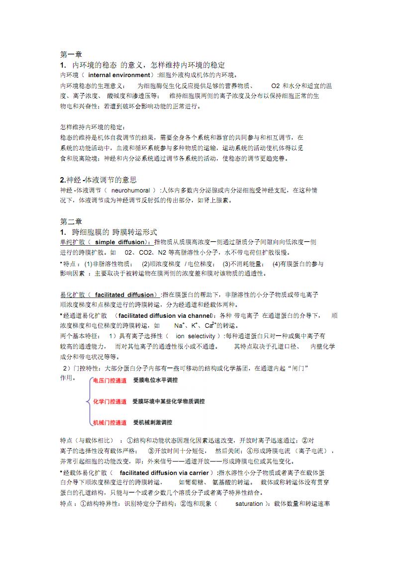 生理考试重点整理.pdf