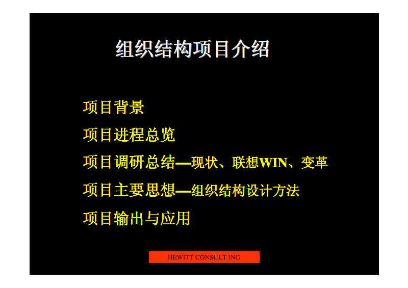 翰威特:组织结构项目介绍.pdf