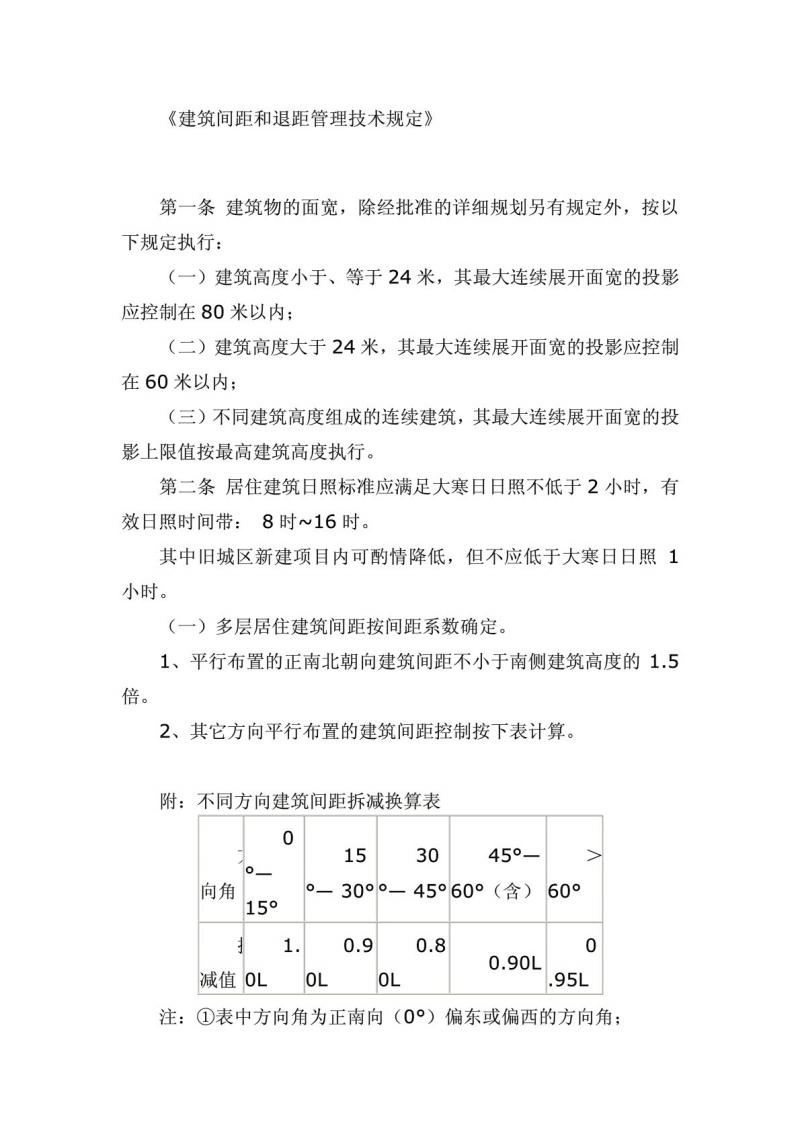 建筑间距和退距管理技术规定.pdf