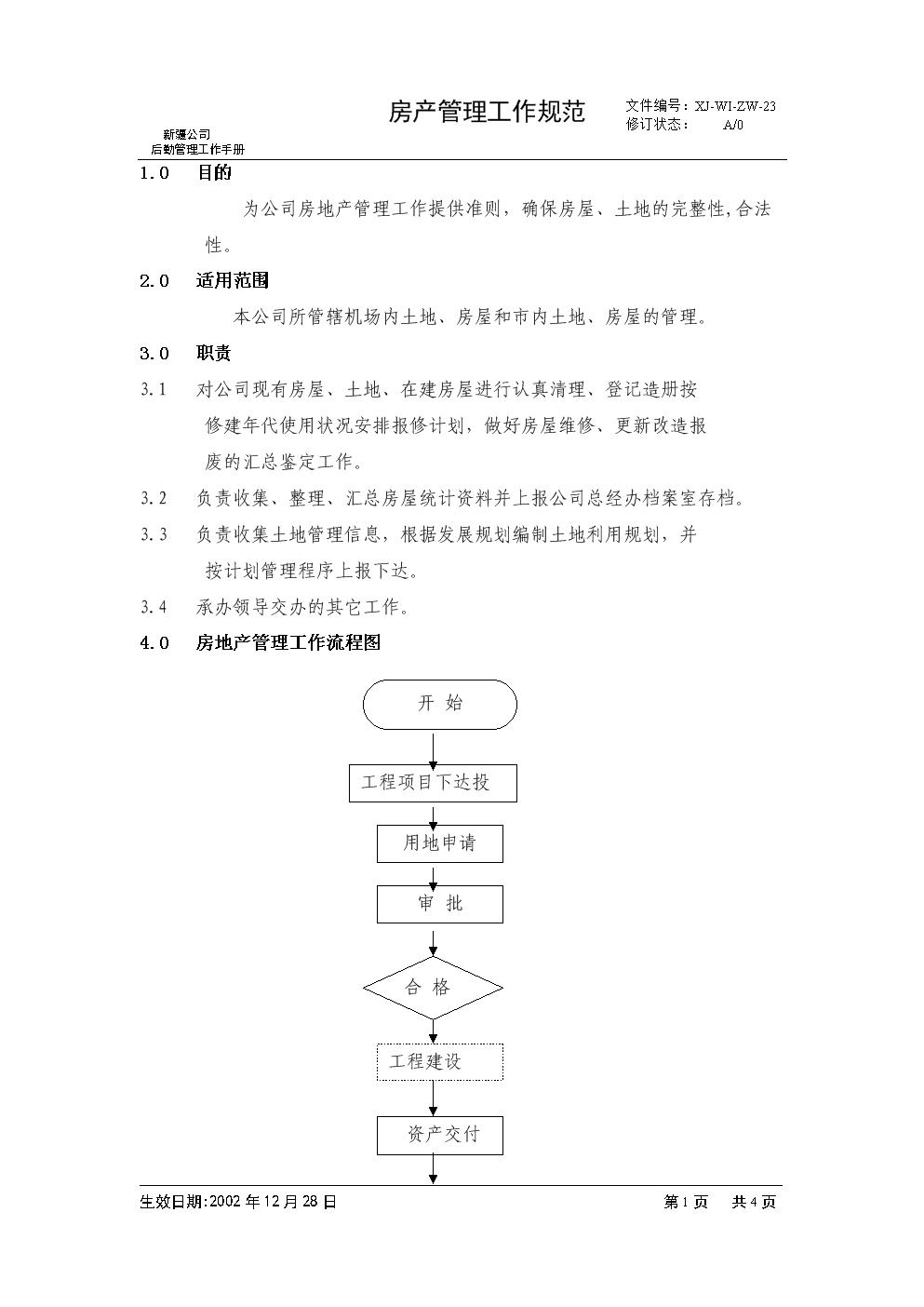 23房产管理工作规范.doc